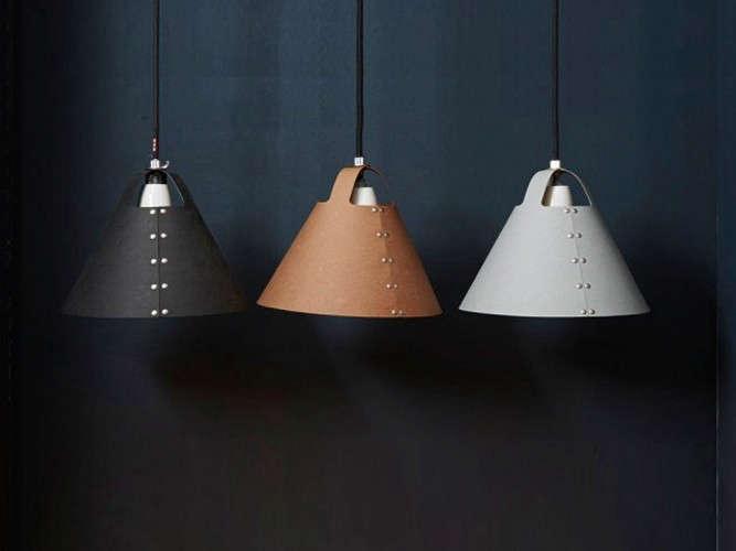 shigeki fujishiro rivet lampshade remodelista