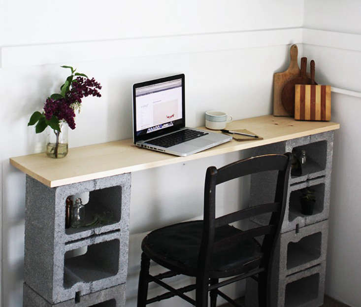 12 Tables Made With Cinder Blocks Economy Edition Remodelista
