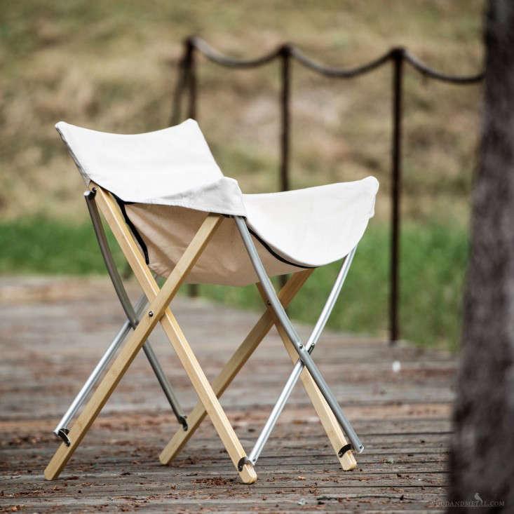 snowpeak take bamboo chair remodelista