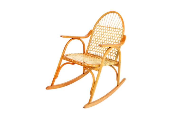 snowshoe rocking chair remodelista