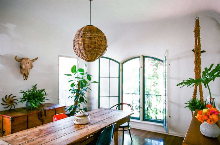 The Bohemian Life Designer Lauren Soloff at Home in LA portrait 7