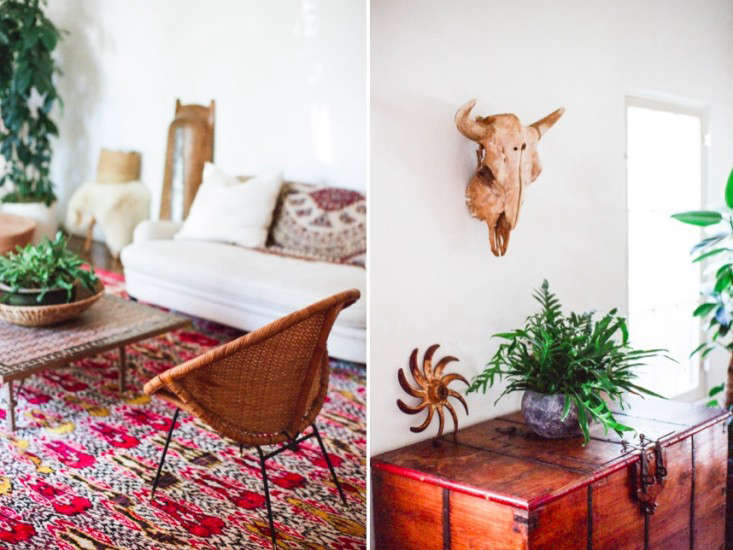 The Bohemian Life Designer Lauren Soloff at Home in LA portrait 5