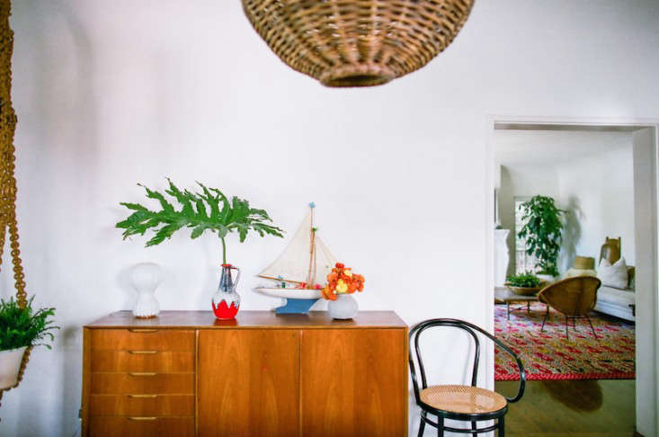 The Bohemian Life Designer Lauren Soloff at Home in LA portrait 9
