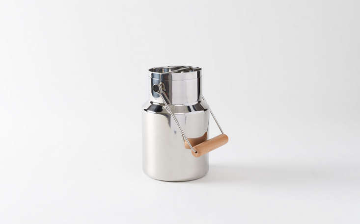stainless steel travel ice bucket march remodelista