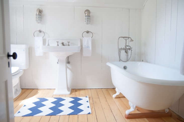 stripes gone haywire: inbefore & after: a summer cottage reborn on the co 18