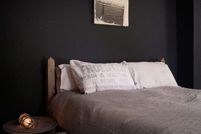 pillows made from reclaimed grain sacks. 10