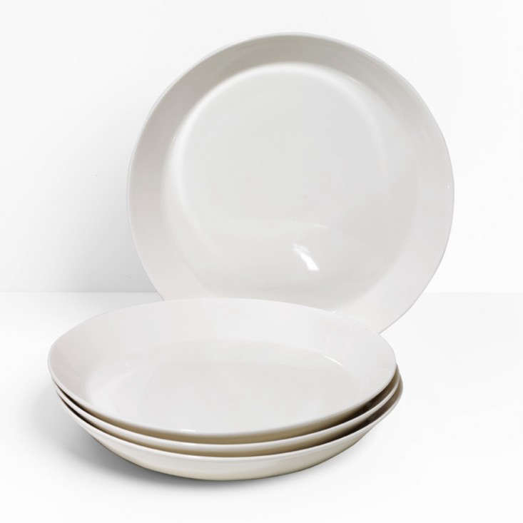 teema white plates remodelista
