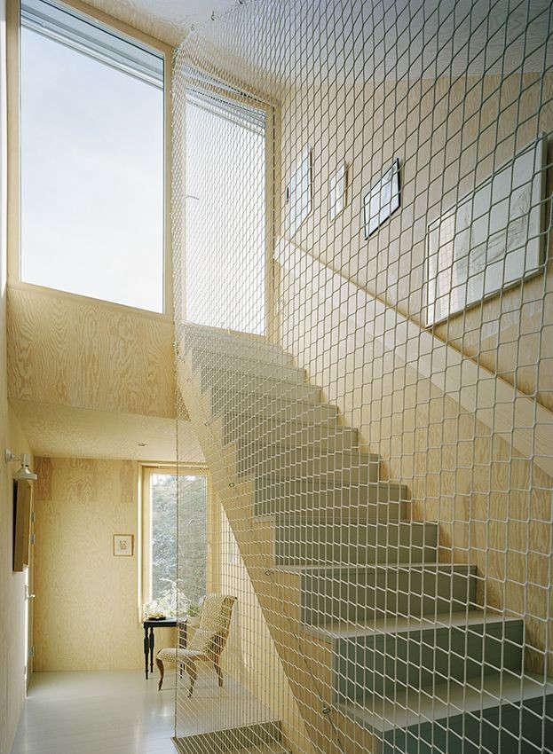 in their garden house in viksberg, sweden, architects tham & videgard enclo 11