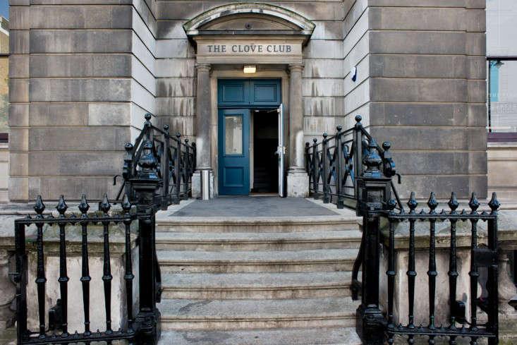 the clove club entrance remodelista