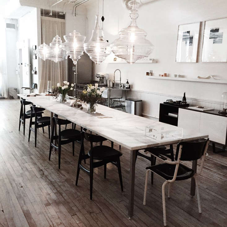 the line dining table