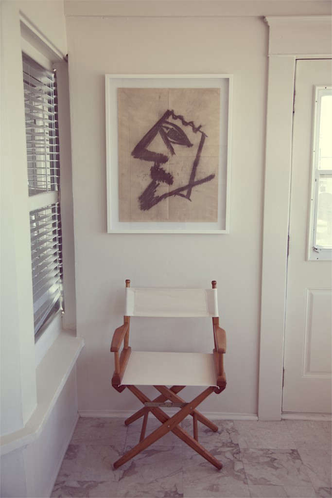 the rose folding directors chair