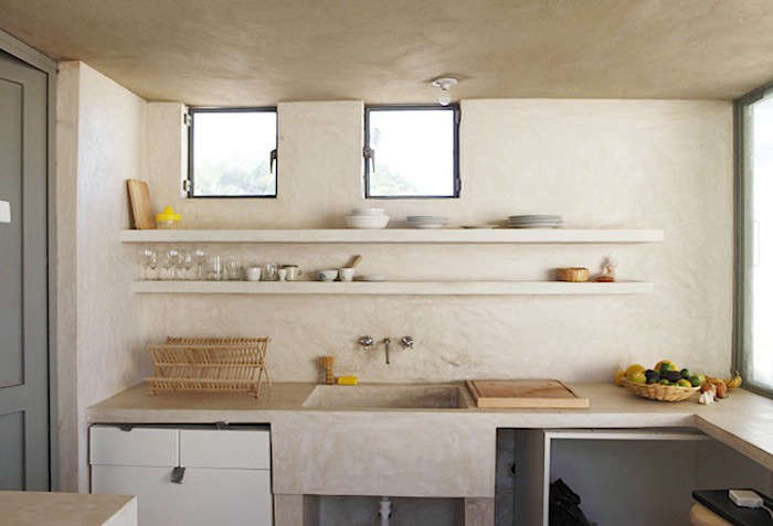 An open-air, compact kitchen inspired by a taco stand in Todos Santos, Mexico.
