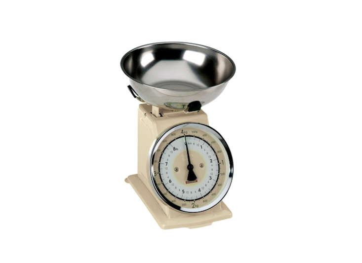 typhoon stainless steel retro mechanical kitchen scale remodelista