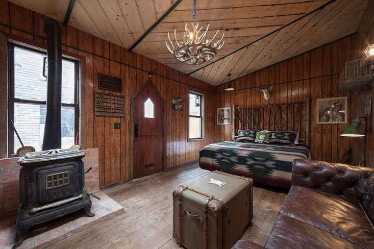 urban cowboy cabine bedroom