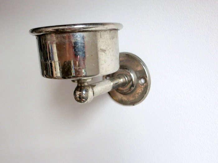 Design Sleuth Vintage Cup Holders as Candle Sconces portrait 5