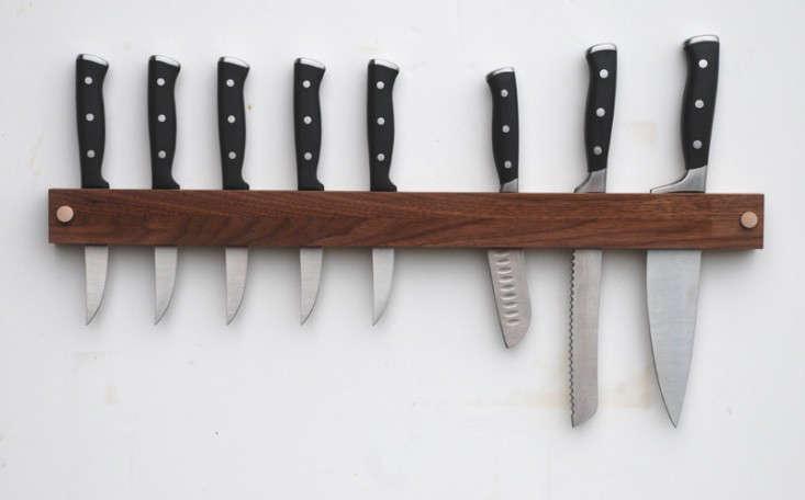 walnut knife rack meriwether
