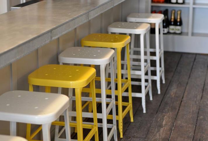 walrus carpenter yellow stools