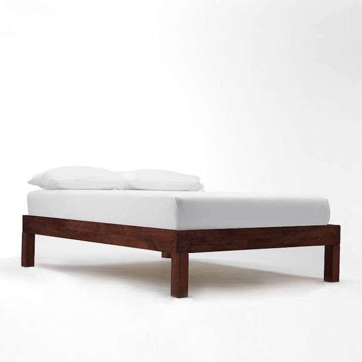 west elm boerum bed frame cafe remodelista
