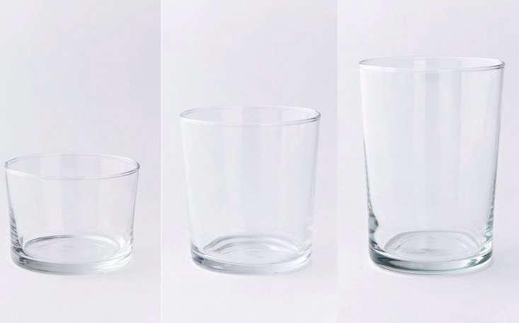 west elm drinking glasses