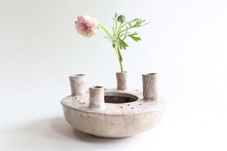 white blush 4 cylinder vase cecile deladier gardenista