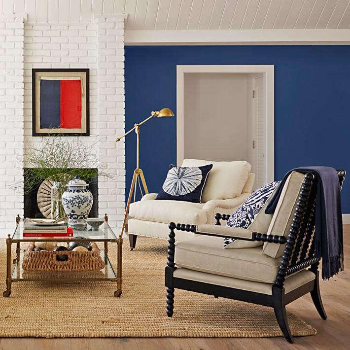 williams sonoma home blue paint