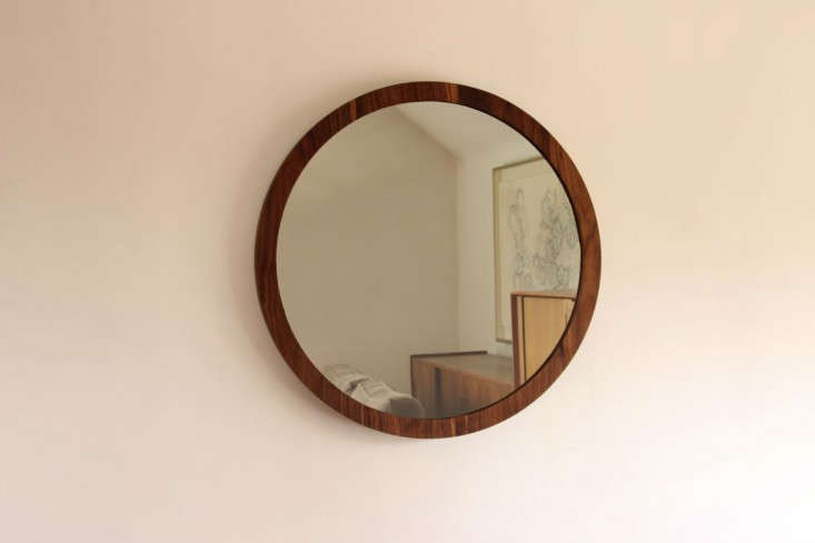 wood mirror round 2