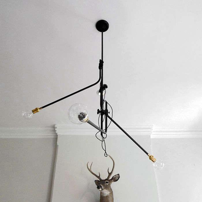 workstead 3 arm chandelier horne