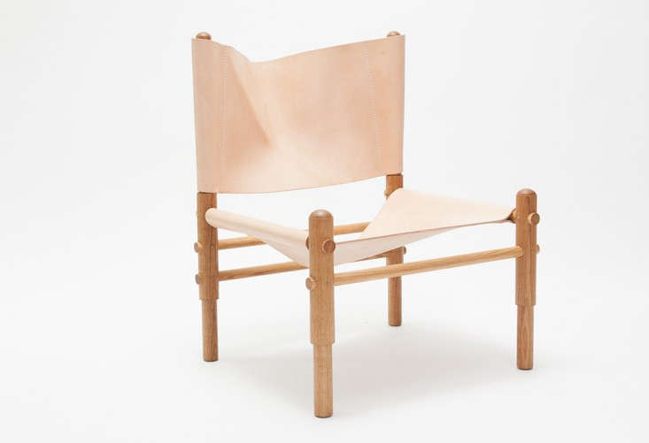 10 Easy Pieces The New Pale Leather Lounge Chair portrait 4