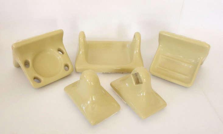 yellow porcelain bath fixture remodelista