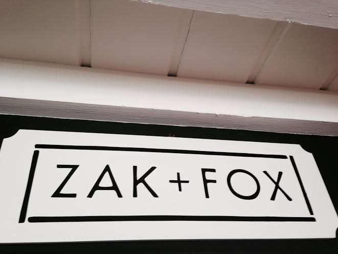 zak fox sign hollywood at home