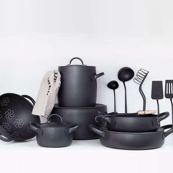 zani zani cookware black