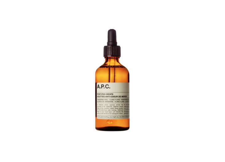Domestic Science 10 Natural Cleaning Solutions for the Bathroom Aesop Post Poo Drops Remodelista