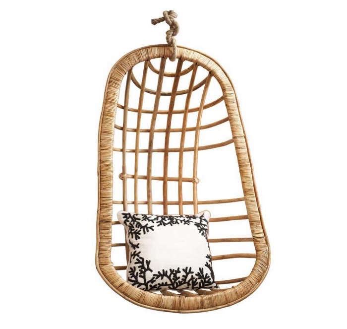 Hanging Chair Two  90  s Company Rattan