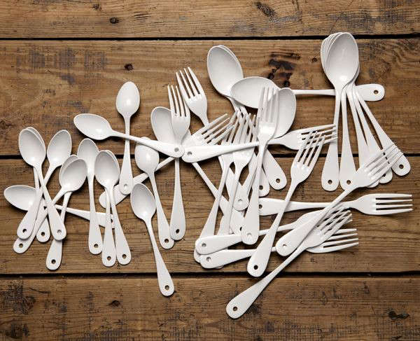 japanese white enamel cutlery from cachette via the mint list remodelista 13