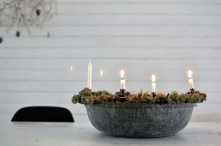 ScandinavianStyle Holiday Decor Fire Included portrait 4