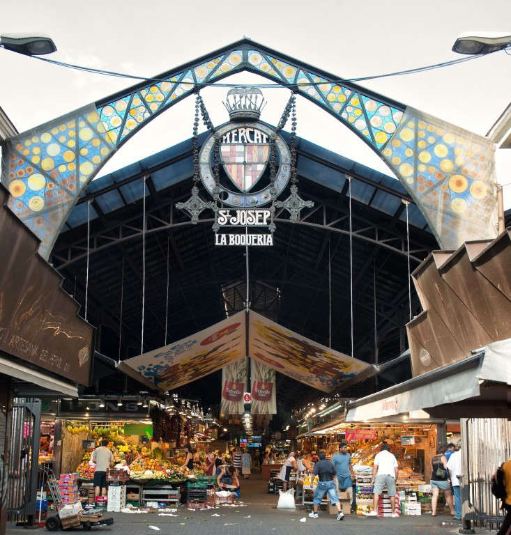 boqueria  20  market  20  entrance