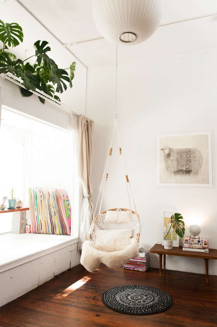 cobble mountain hanging chair gardenista