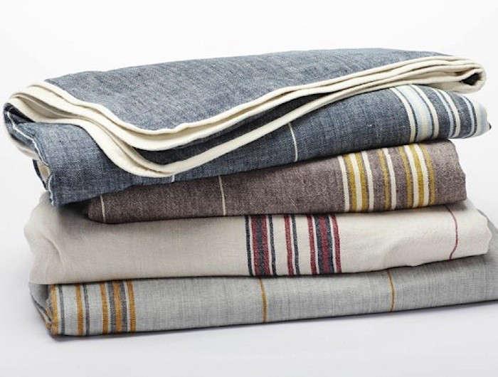 coyuchi rustic linen throw