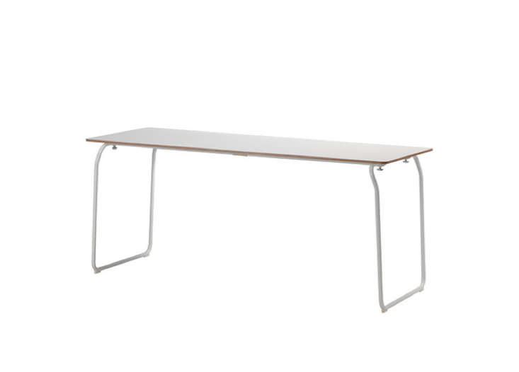 ikea ps 2014 white folding table remodelista