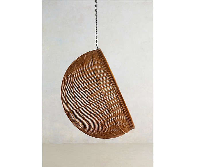 10 Easy Pieces Hanging Rattan Chairs portrait 5