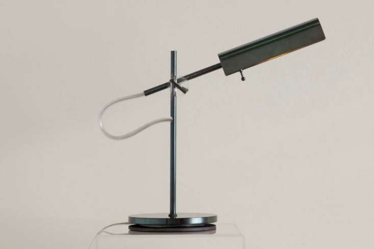 Second Coming 5 FamilyOwned Midcentury Design Companies Revived Desk lamp by Robert Long Lighting, a revived sixties company | Remodelista