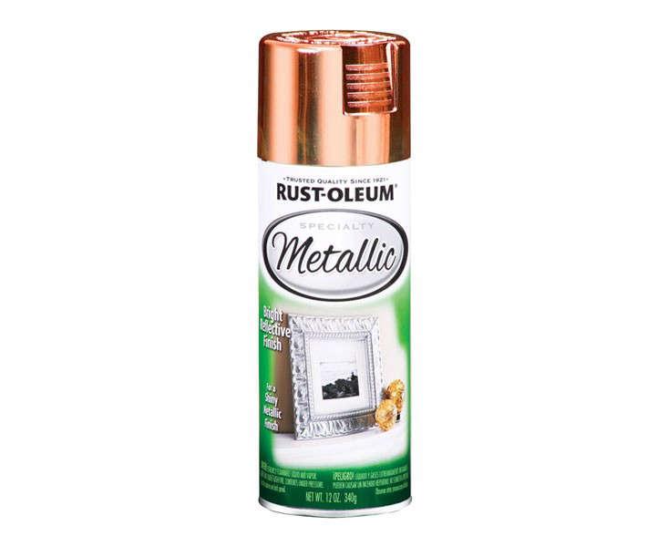 rust oleum copper metallic spray