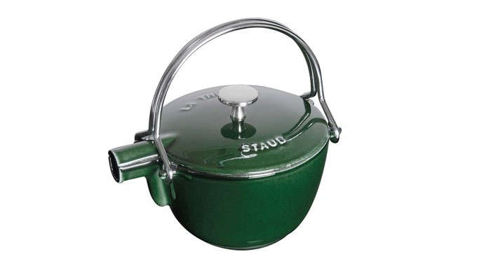 staub green tea kettle enameled iron gardenista