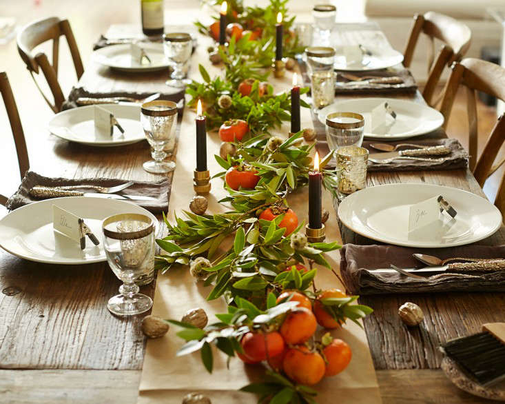 Steal This Look An Easy and Elegant Thanksgiving Tabletop from the Garden portrait 3