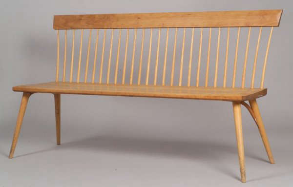 thos moser spindle bench