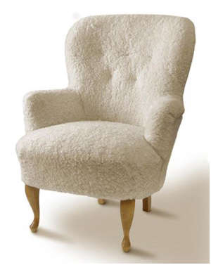 Furniture SheepskinCovered Seating portrait 5