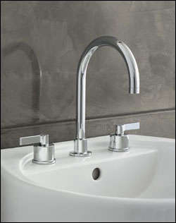 10 Easy Pieces Modern DeckMounted Bath Faucets portrait 6