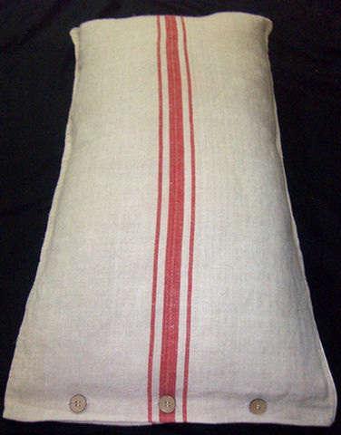 Accessories Vintage Grain Sack Pillows portrait 6