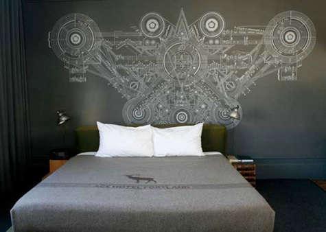 ace hotel gray bedroom