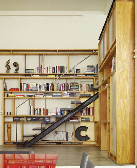 Storage Shelving from Aidlin Darling portrait 3